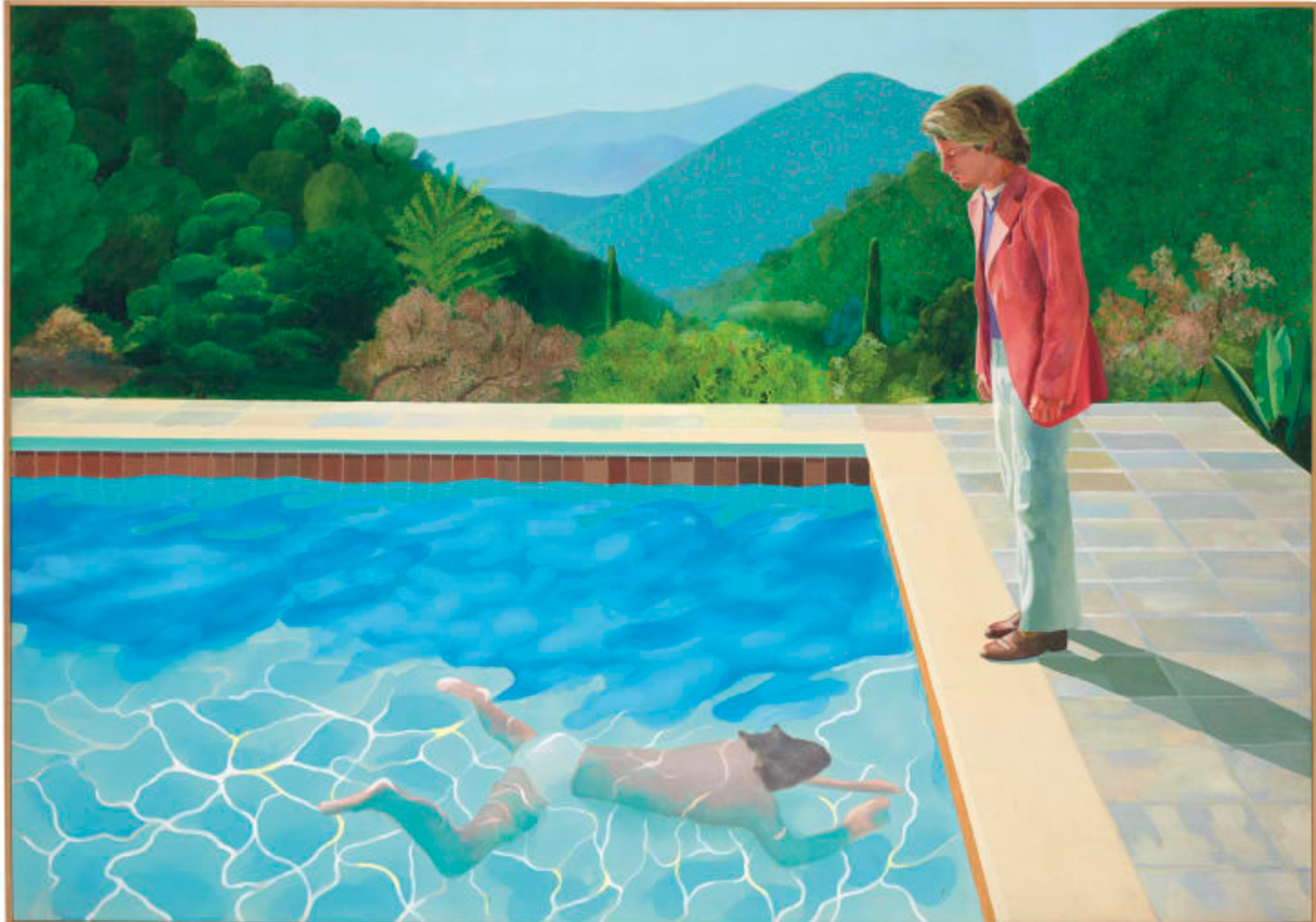 """Portrait of an Artist (Pool with Two Figures)"""